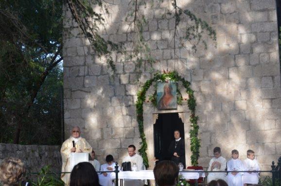 Blagdan Pohođenja Blažene Djevice Marije na Lokrumu
