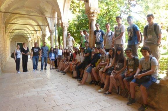 Lokrum posjetili učenici iz projekta Erasmus plus