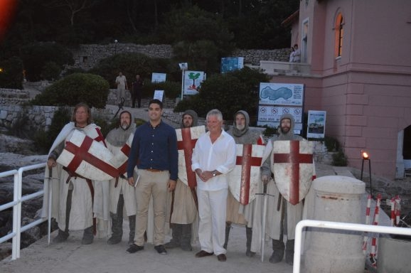 Lokrumske Legende Rikard Lavljeg srca i Benediktinci