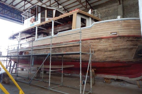Rezervat Lokrum i ove godine uložio znatna sredstva u obnovu brodova Skala i Zrinski !