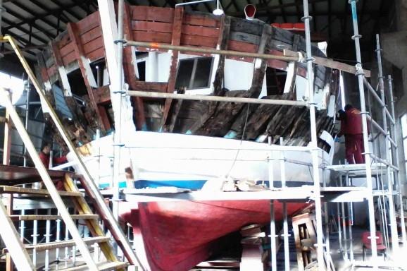 Rekonstrukcija i remont m/b Skala