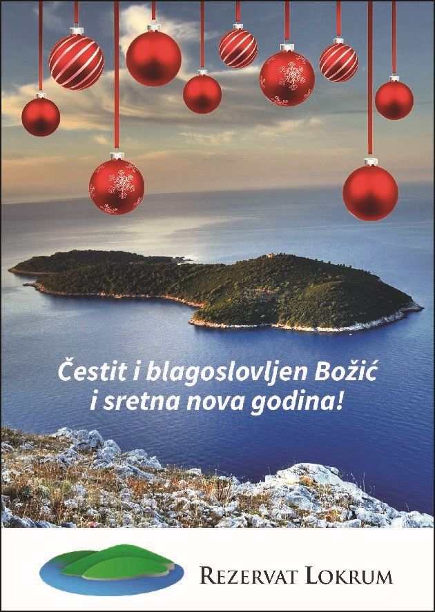 Čestit i blagoslovljen Božić i sretna nova godina!